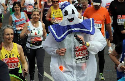 London Marathon Stay Puft