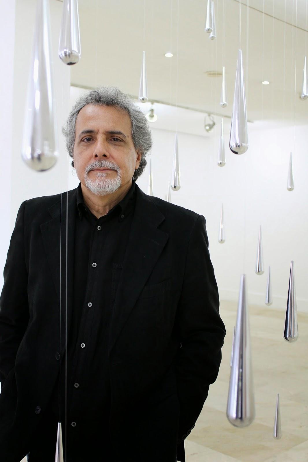 Carlos Medina Escultor - Instalación Gotas