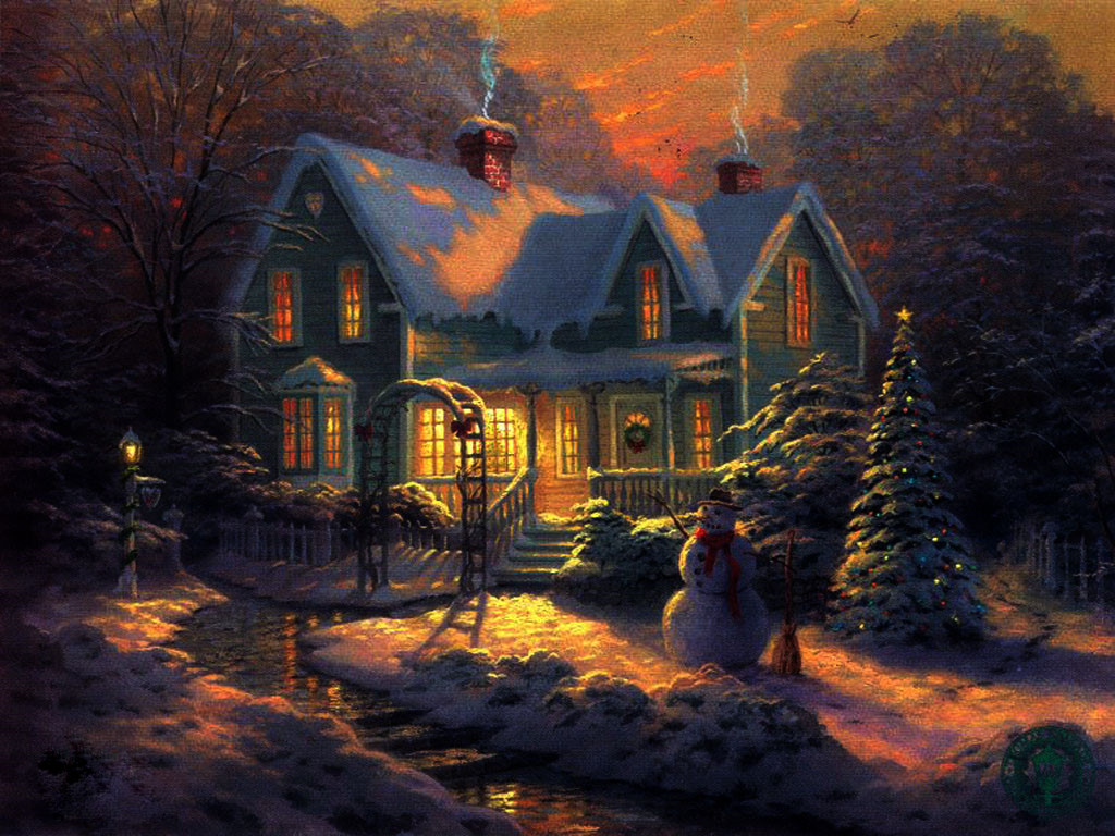 3d Christmas Cottage Wallpaper Galerry Wallpaper HD Wallpapers Download Free Images Wallpaper [1000image.com]