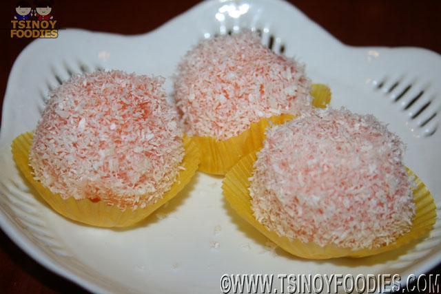 mango snow balls