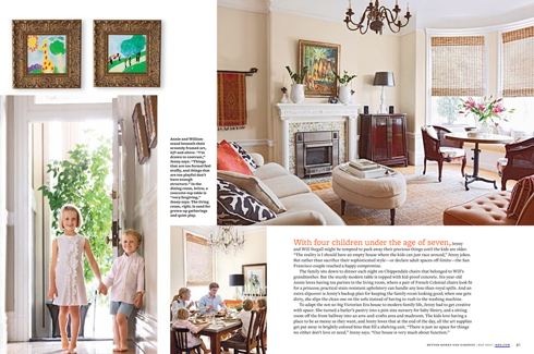 marvelous robert allen home and garden. Undeniably Jenny and Will Stegall s home  with its textured neutrals updated classic styling pretty shades of green Better Homes Gardens May Issue Em for Marvelous