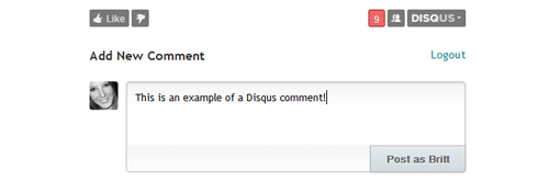 How to add a profile picture to Disqus comments
