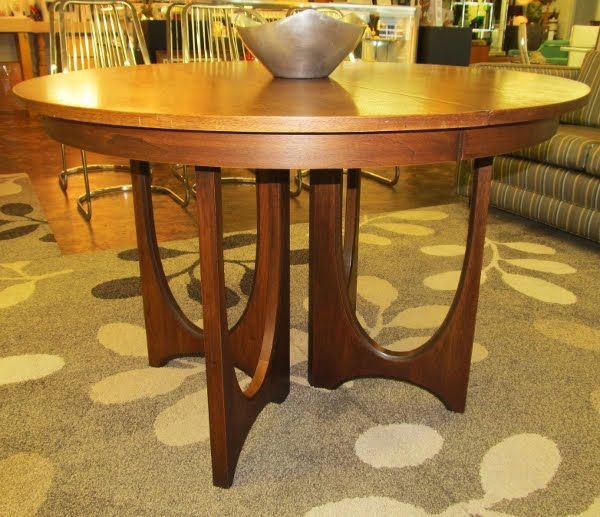 Mad for Mid-Century: Broyhill Brasilia Dining Table and Chest in ...