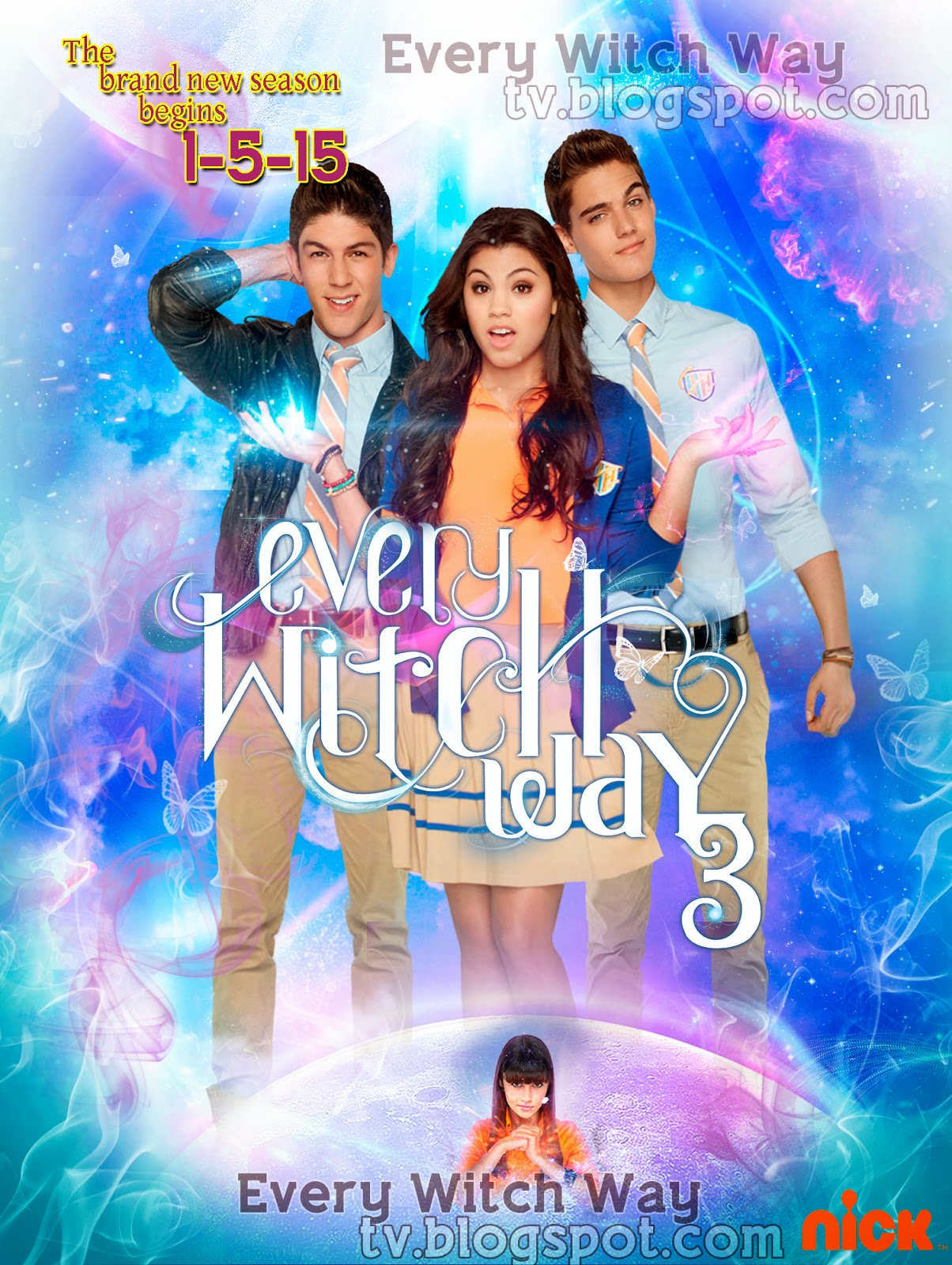 Promotional poster of every witch way season 3 every witch way