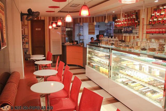 Interior of Nothing but Desserts