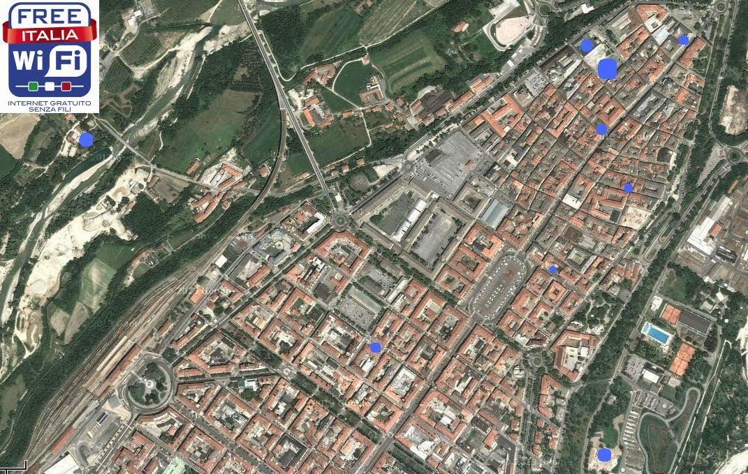 Wifi Comune di Cuneo