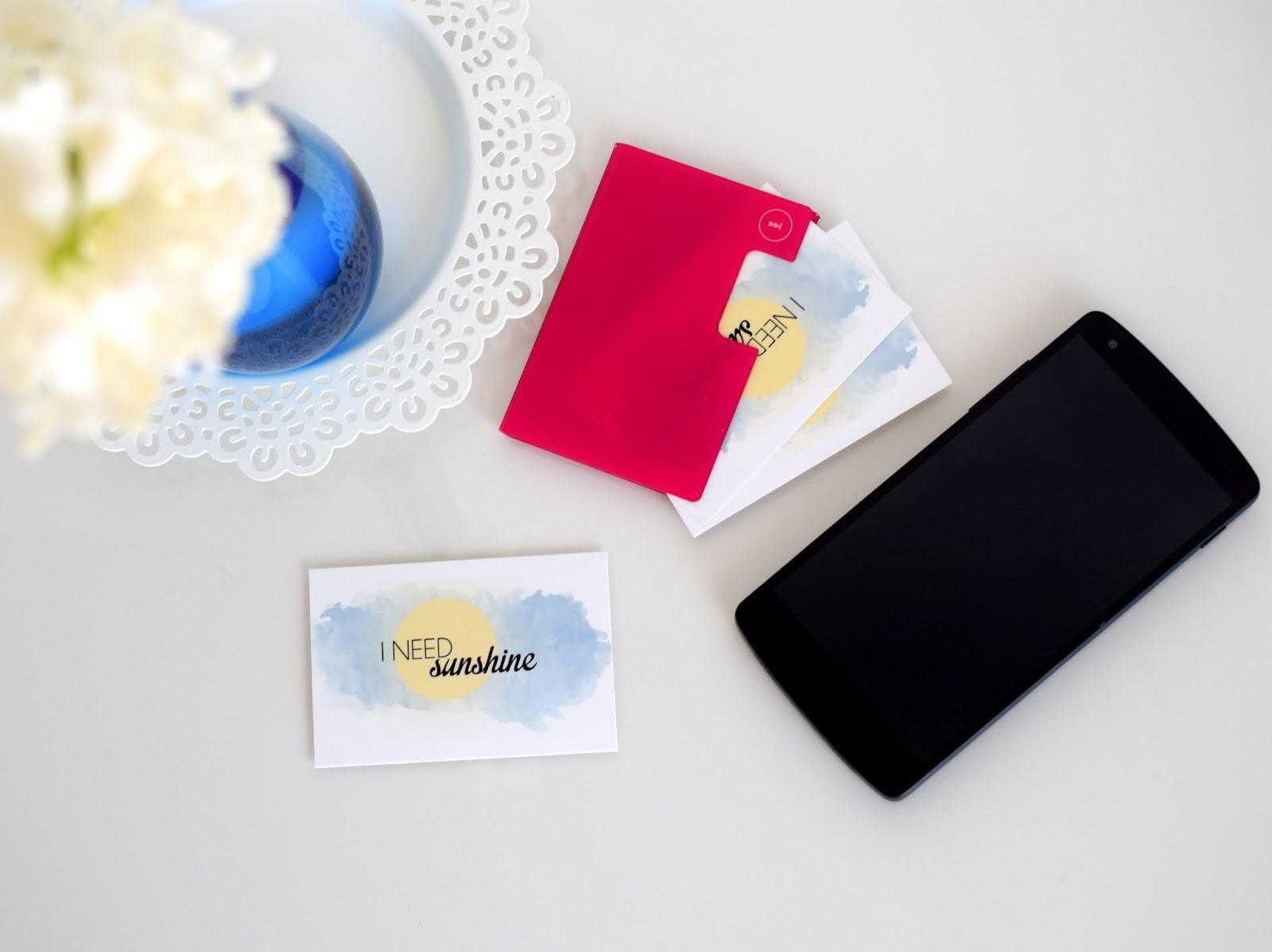Bloggerevent: Visitenkarten und Handy