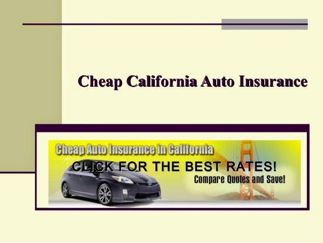 Best California Auto Insurance