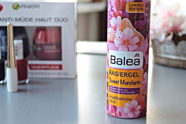 Beauty | xxl Shoppingausbeute  - balea, rasiergel, sweet mandarin, limited edition, dm, blog, haul, josie´s little wonderland