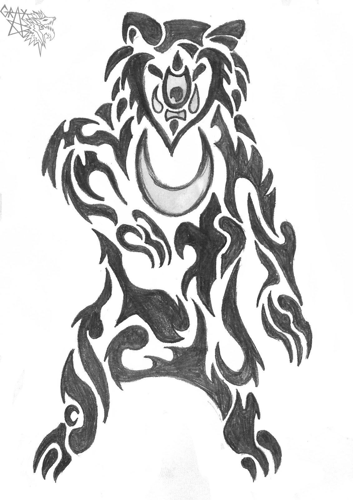 celtic bear tattoo designs. Black Bedroom Furniture Sets. Home Design Ideas
