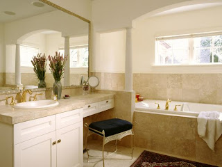 Luxury Bathroom Vanity remodeling photo