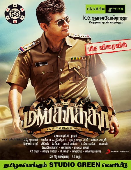 Mankatha 2011 Hindi Dubbed Dual Audio BRRip 720p 1GB