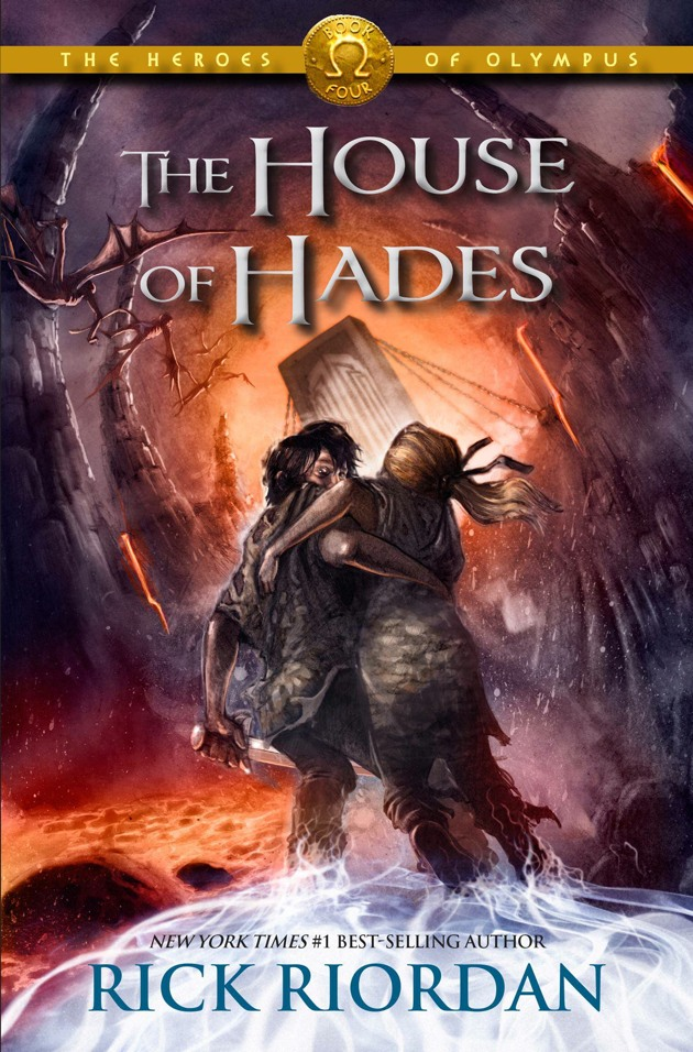 Here is the Heroes of Olympus Book 4   The House of Hades cover in its    The Heroes Of Olympus The House Of Hades