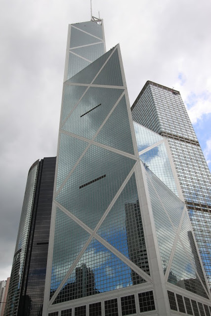 Bank of China Tower in Central, Hong Kong