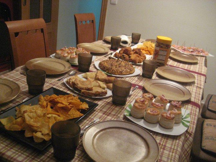 Condimentando mi vida cena informal entrada n 100 - Cenas baratas en casa ...