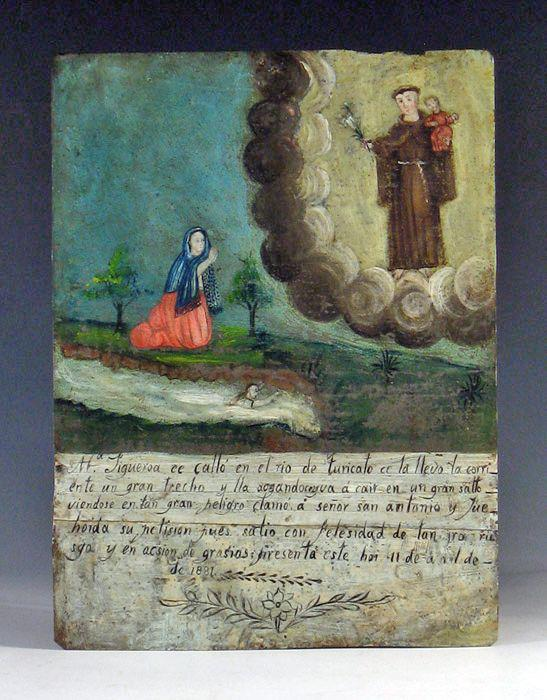 Mexican Traditional EX VOTO