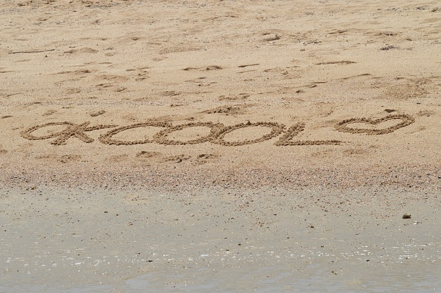 Palabra en la playa