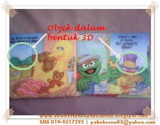 Softbook Where Elmo muka surat 1-2