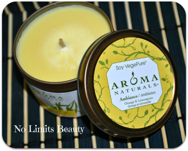 iHerb - Aroma Naturals Ambiance (Orange & Lemongrass Candle)