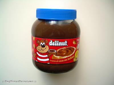 Crema al cacao con avellanas DELINUT (Aldi) tipo Nutella o Nocilla