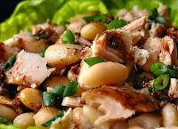 Tuna White Bean Fennel Salad with Orange Vinaigrette Recipe | Healthy Tuna Recipe