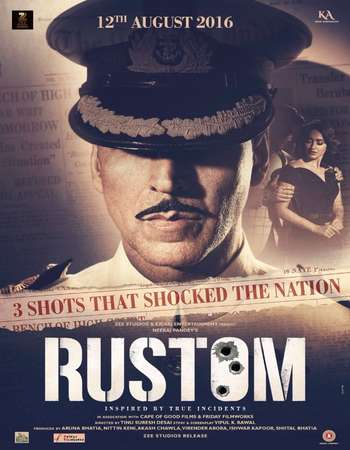 Rustom 2016 Hindi HD Official Trailer 720p Full Theatrical Trailer Free Download And Watch Online at 300mb.cc