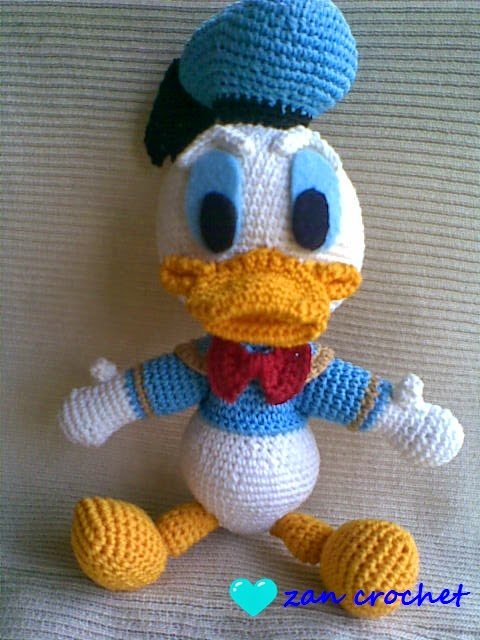 Donald Duck ~ Zan Crochet