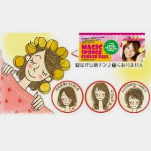 Tips Membuat Rambut Ikal Alami Menggunakan Magic Sponge Hair Curler Dengan Cepat