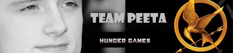 Team Peeta - Hunger Games Fan Site