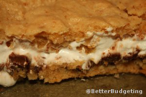 S'mores Cookie Bars - Bake Sale BEST SELLER!