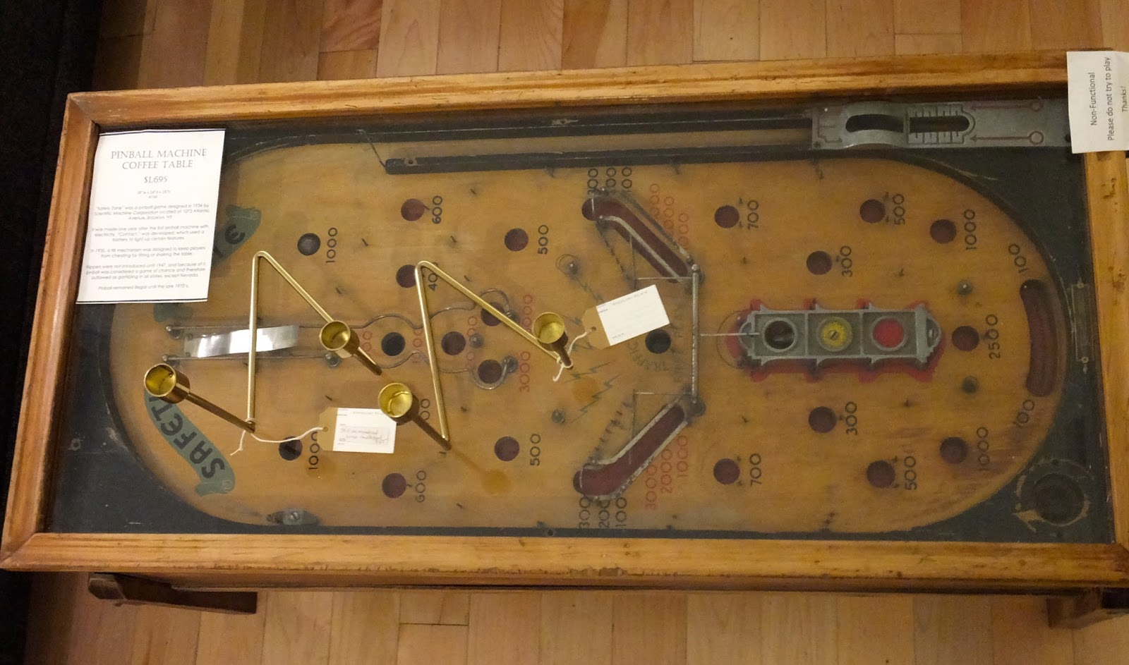 Roomations pinball machine coffee table geotapseo Image collections
