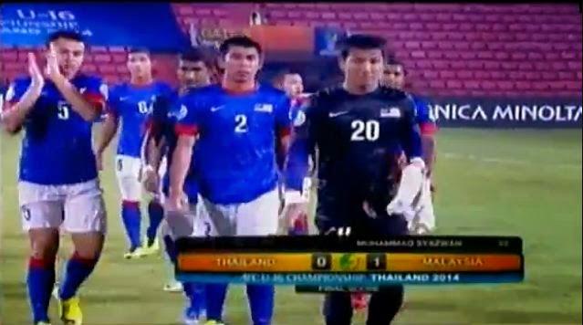 Thailand vs Malaysia AFC U16 2014
