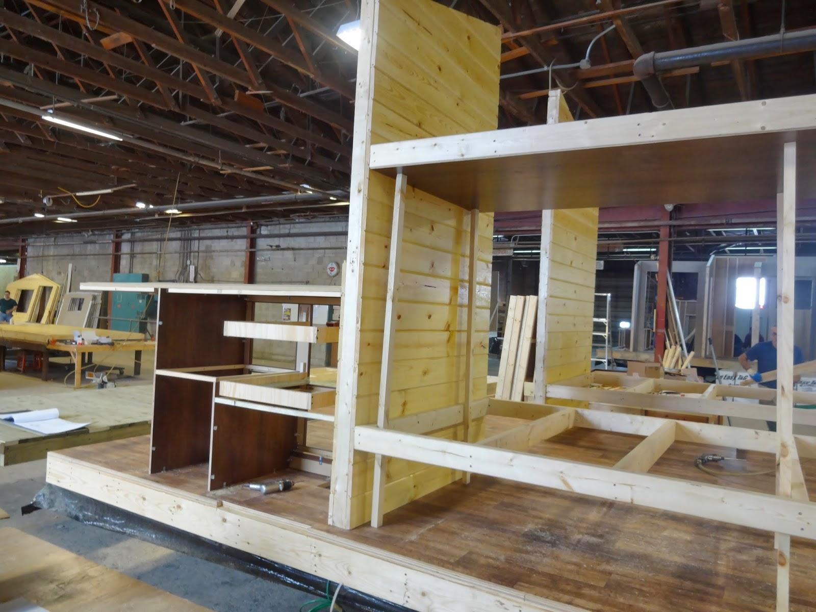 Cabin manufacturing at General Coach Canada