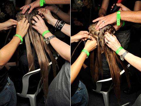 3 Зачіски на довге волосся від Alexander McQueen