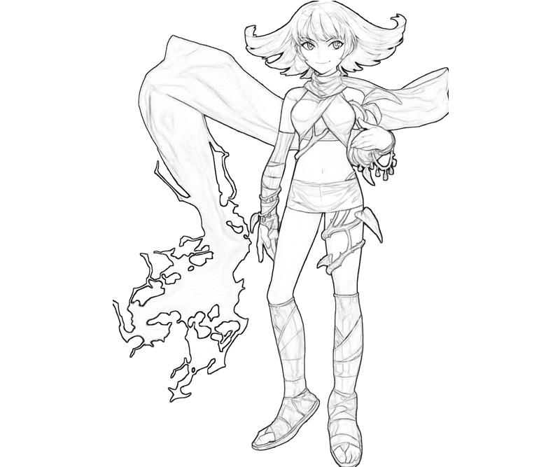Another Kid Icarus Coloring Pages