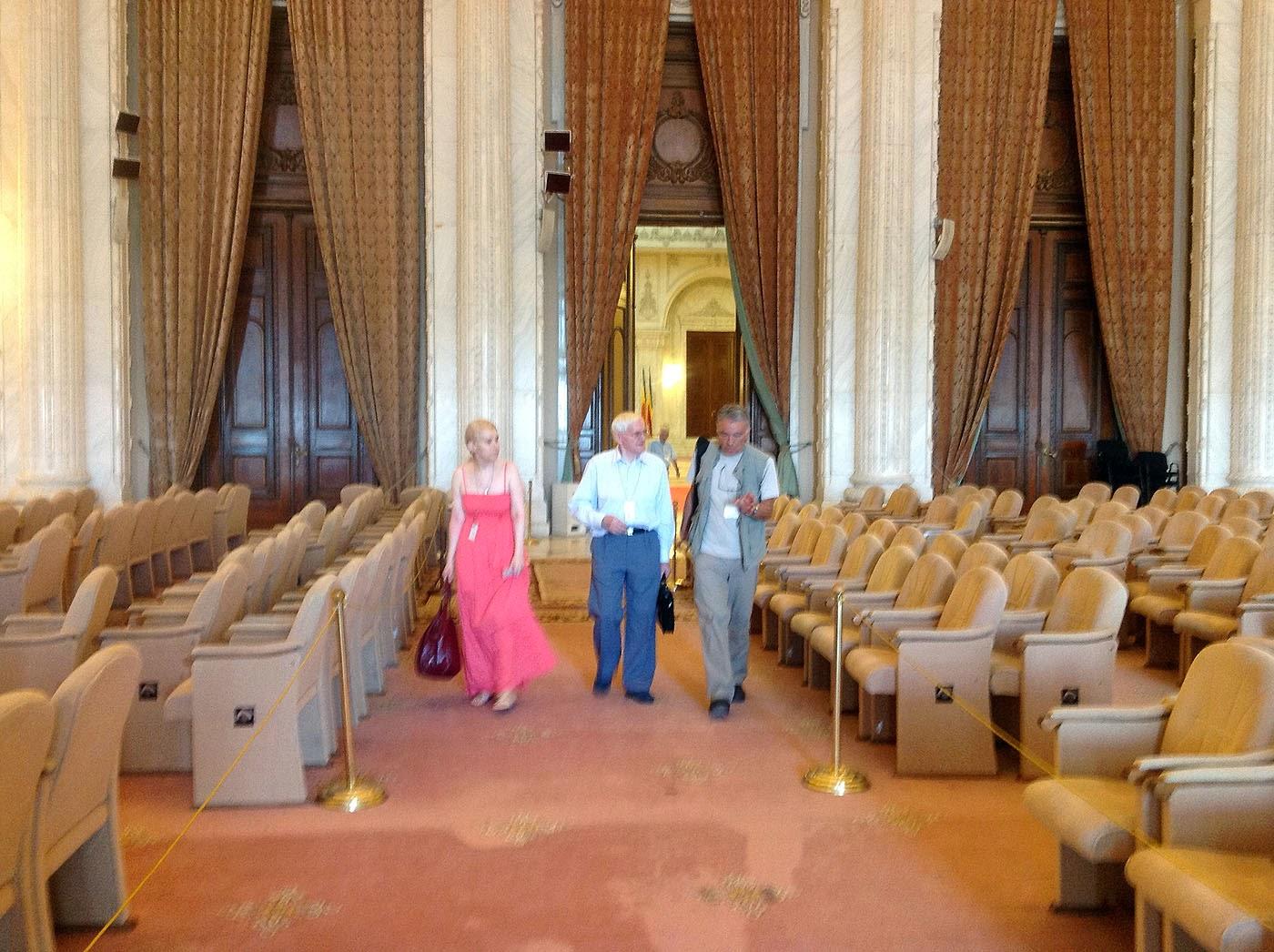 Prof.dr.Ieronim Mihãilã, Ing.J.-B.Deloly si Olivia-Maria Marcov, Palatul Parlamentului,20/07/2012