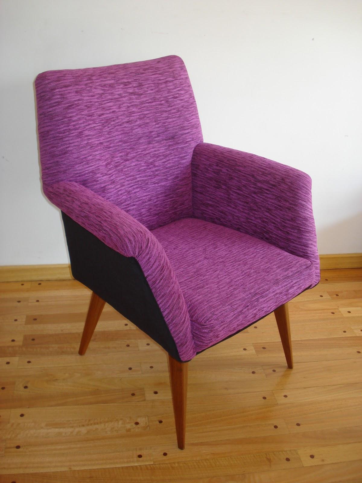 Chochiloca reciclado de muebles par sillones retro for Reciclado de sillones