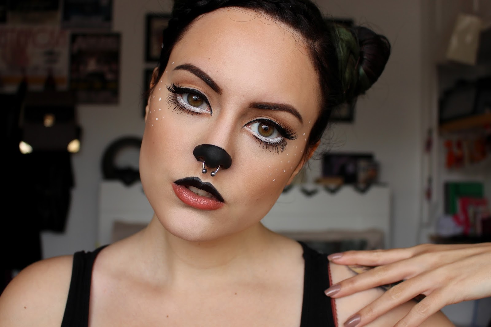 Kittenmoustache Halloween Fawn Tutorial
