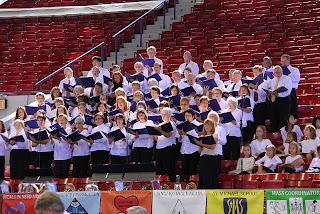 Choir Singing at the Mass