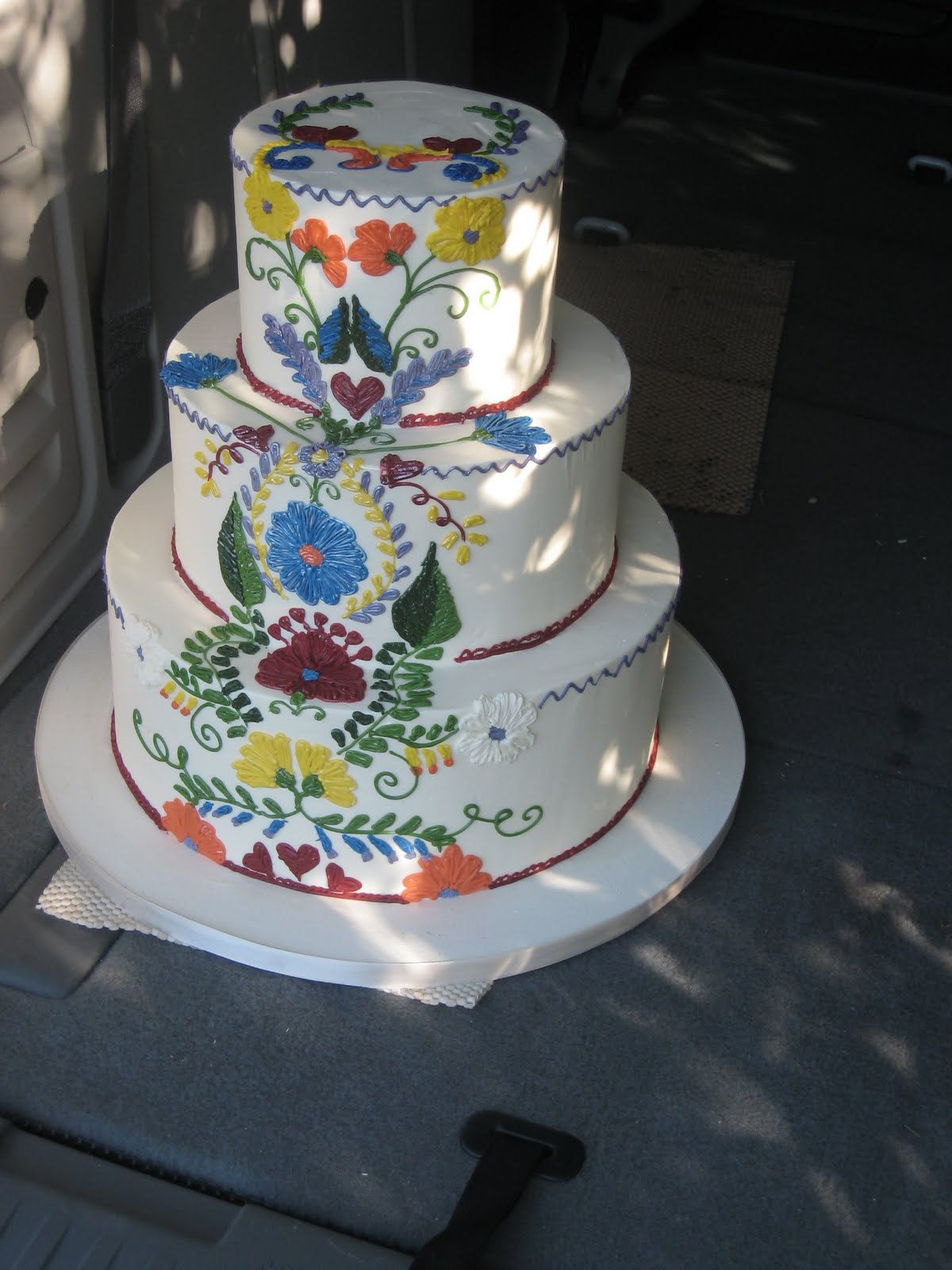 Cake As Art By Cake Coquette: New San Francisco Wedding Cakes