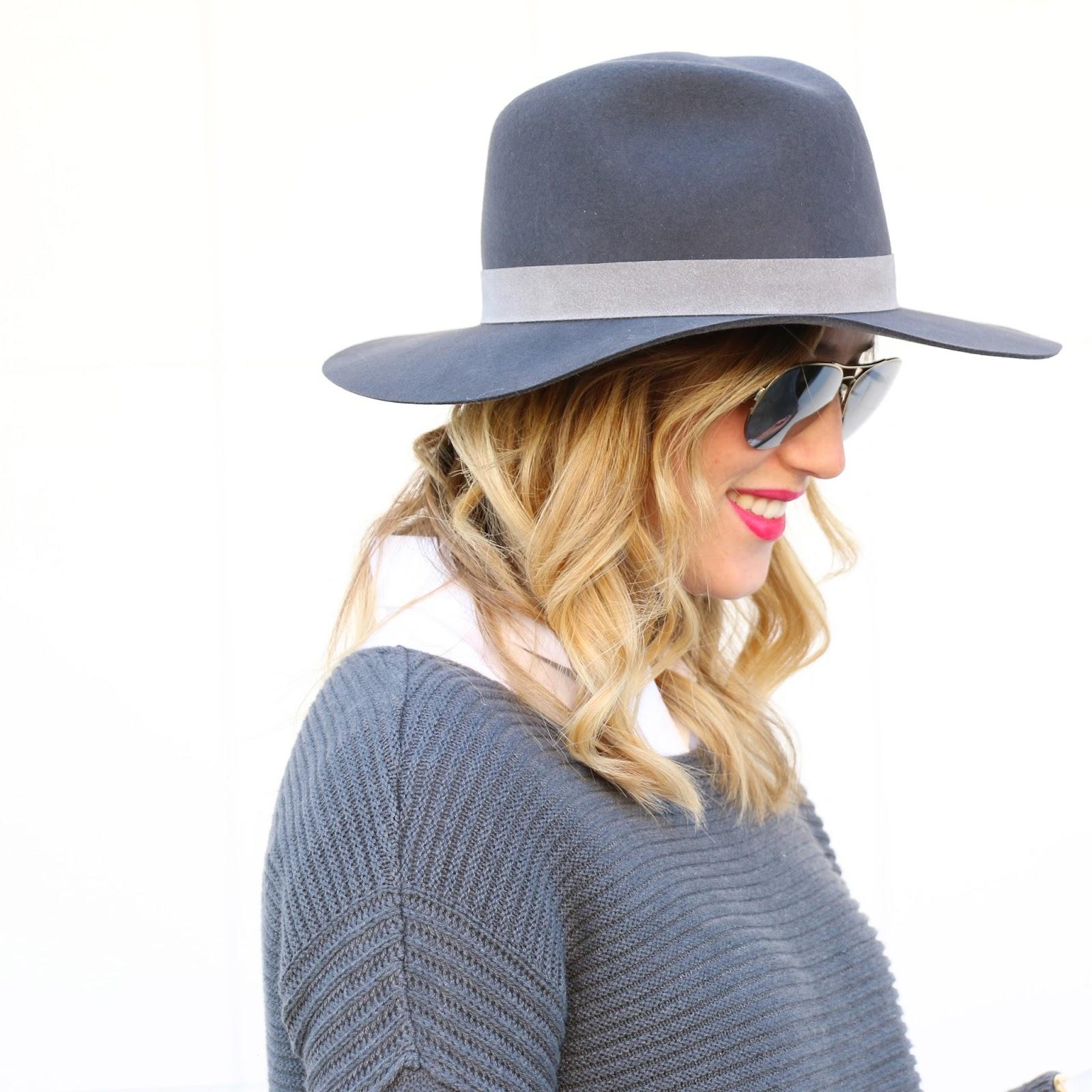 Janessa Leone fedora hat