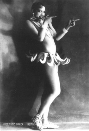 Josephine Baker.