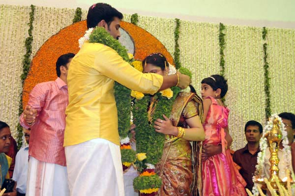 Malayalam Film Actor Indrans Daughter Marriage Photos