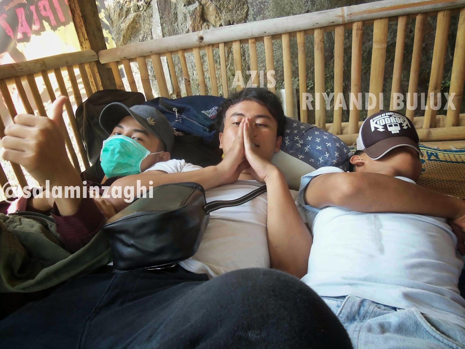 tidur siang reuni SMK MUHAMMADIYAH 3 TANGSEL