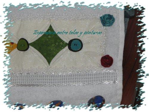 Esperanza entre telas y pinturas tecnicas de patchwork - Tecnicas de patchwork a mano ...