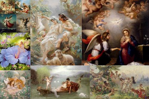 Ángeles, hadas, cupidos y otros seres fantásticos III