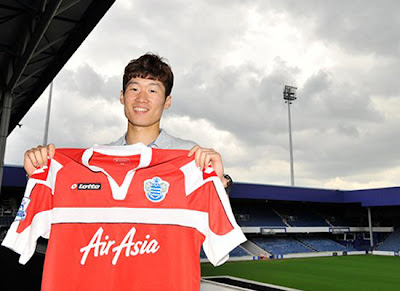 Ji Sung in New Jersey QPR 2012-2013