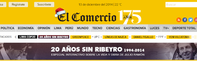 Los periódicos más importantes de Perú