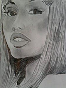 Rysunek Nicki Minaj