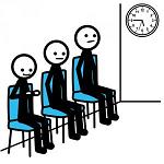 persone che aspettano